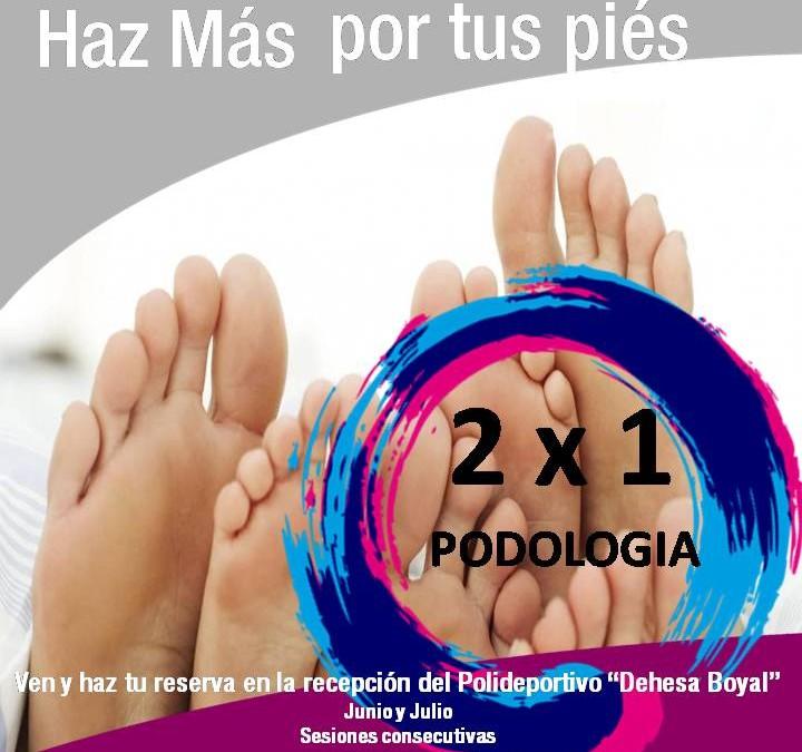 2×1 en Podología