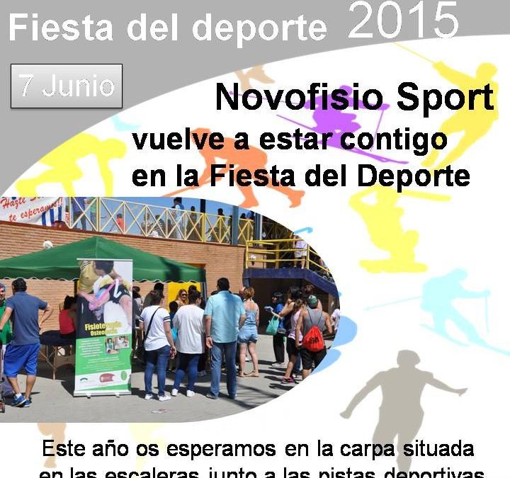 FIESTA DEL DEPORTE 2015 CON NOVOFISIO SPORT