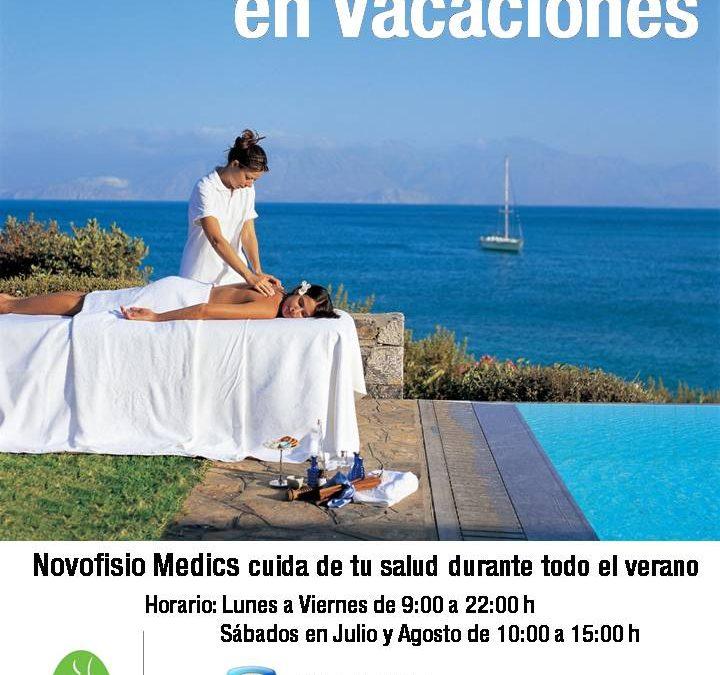 La Salud NO CIERRA en Vacaciones