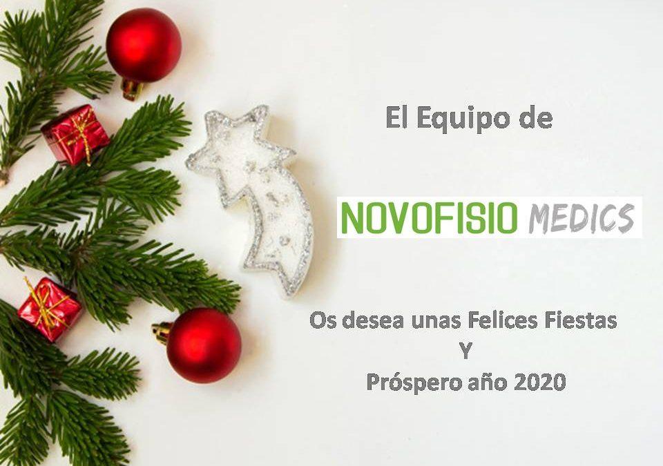 NOVOFISIO MEDICS os desea unas Felices Fiestas!!!